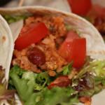 Chili wraps met sla en tomaat