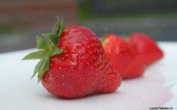 Aardbeien: Door het zonnetje gemaakt