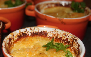 Aardappelgratin met kaas