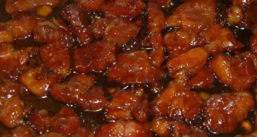 Overheerlijke babi ketjap uit m`n eigen keuken