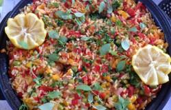 Larissa's Paella de pimienta