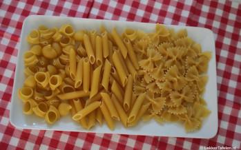 Pastasoorten - kwaliteit