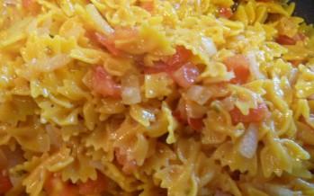 Getomatiseerde (rode) pasta
