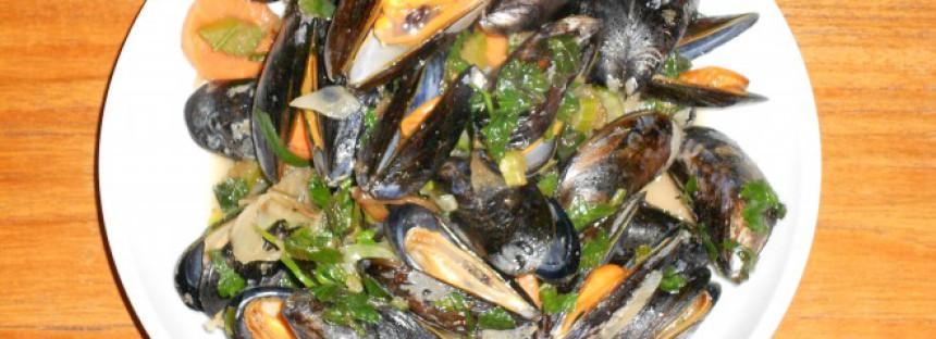 De allerlekkerste gewokte Hollandse Zeeuwse mosselen