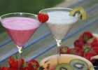 Zomerse Verkoeling van yoghurt met vers fruit