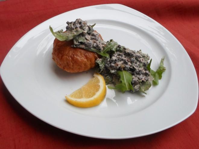 salade van linzen