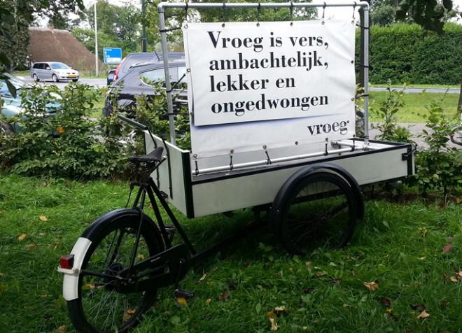 fiets van restaurant Vroeg