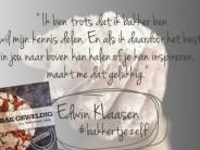 Ik bak geweldig, jij trouwens ook van Edwin Klaasen
