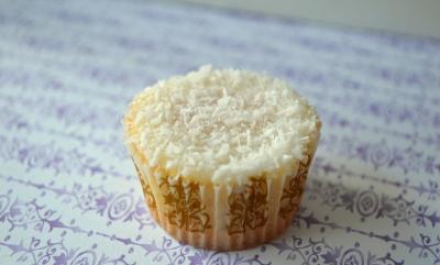 Mini sneeuw cupcakes