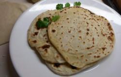 Kokos chapati's, platbrood uit Afrika