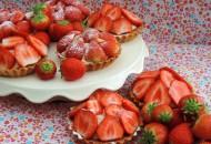 aardbeien taartjes