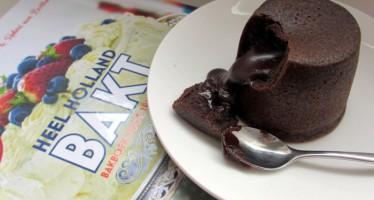 Heel Holland Bakt 'Moelleux au Chocolat'