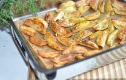 Pure aardappelpartjes uit de oven