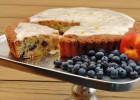 Bosbes nectarine cake