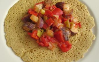 Lekkere kikkererwten-pannenkoekjes met Ras el Hanout