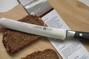 Review Eden Classic Damast broodmes Knives and Tools