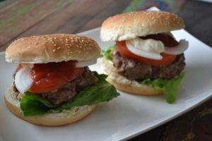 Hamburgers maak je lekker zelf!