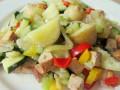 Vegetarische aardappelschotel