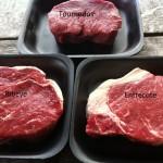 Tournedos, entrecote, biefstuk, hoe zit dat ook alweer?
