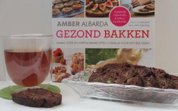 Gezond bakken met Amber Albarda