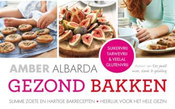 Winactie: Gezond bakken met Amber Albarda
