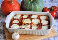 pasta-ovenschotel met buffelmozzarella