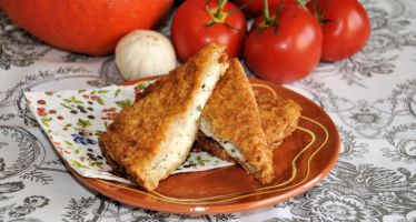Buffelmozzarella in Carrozza