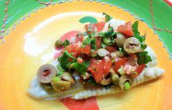 Zeewolf met salsa Veracruz
