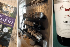 Wijnschrijver en wijnlezer