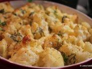 Eenvoudige aardappel-bloemkoolgratin