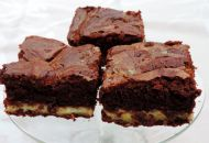 brownie met salted caramel