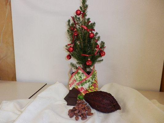 Chocolade onder de kerstboom 1