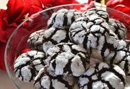 chocolade crinckle cookie