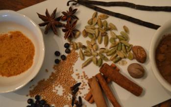 Winterse kruiden en specerijen