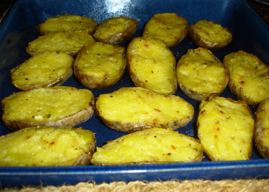 Potatoskins: heerlijke aardappelbootjes