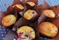 Cranberry Pecan muffin