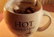 Warme chocolade met winterse specerijen