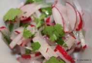 salade van radijsjes
