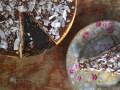 Kokoscheesecake met pure chocolade