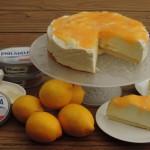 Lemoncurd 'niet-in-de-oven' cheesecake met Philadelphia Natural