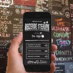 Reizende sterren introduceert streetfood app