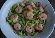 courgette gamba salade (2)