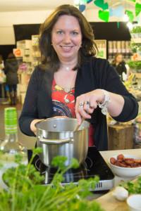 Vanessa van Koppen koken