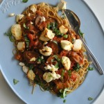 Pasta alla Norma; Pastasaus met aubergine en ricotta