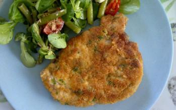 Siciliaanse gepaneerde varkensfiletlapjes (Cotelette di lonza di maiale impanata alla Siciliana)