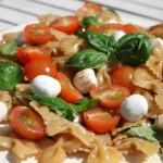 Caprese voor een verrukkelijke pastasalade