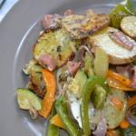 Italiaanse aardappelschotel – alles in één pan