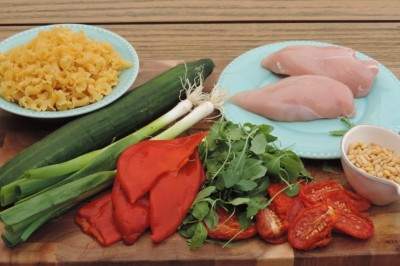 Mediterrane maaltijd ingrediënten