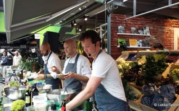 Natuurlijk Markthal Rotterdam en Love My Salad organiseerden een salade #tweetjam in de Markthal in Rotterdam