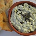Griekse tzatziki met courgette en pompoenpitolie
